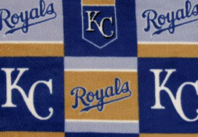 Kansas City Royals Fleece Fabric
