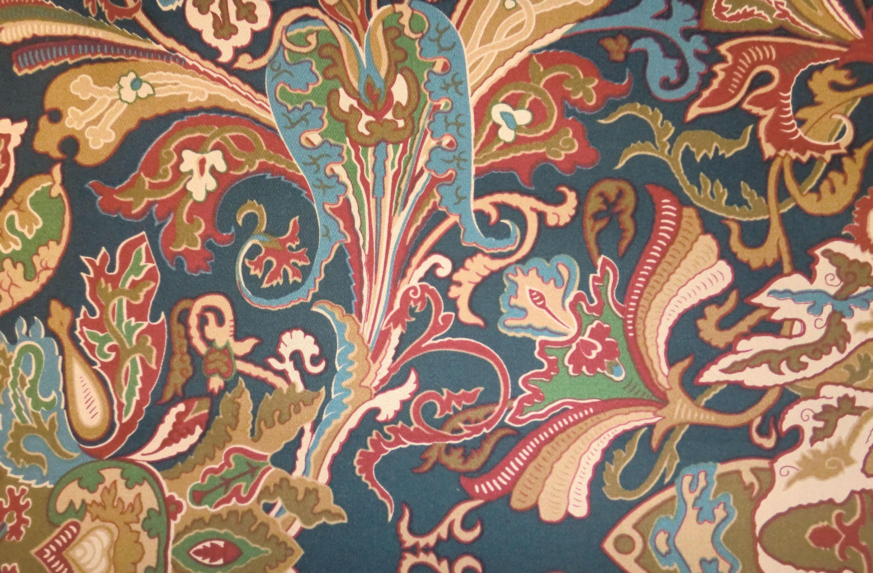 Ralph Lauren Fabrics Lakota Paisley Imperial Blue