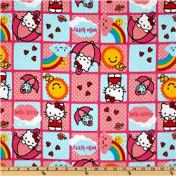 Hello Kitty Rain Or Shine Patches Pink