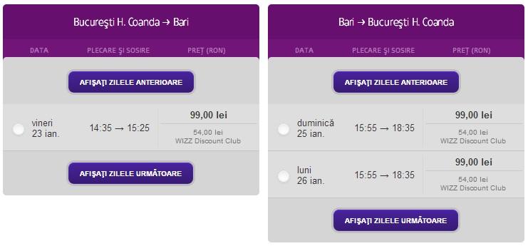 Bari - Oferte low cost