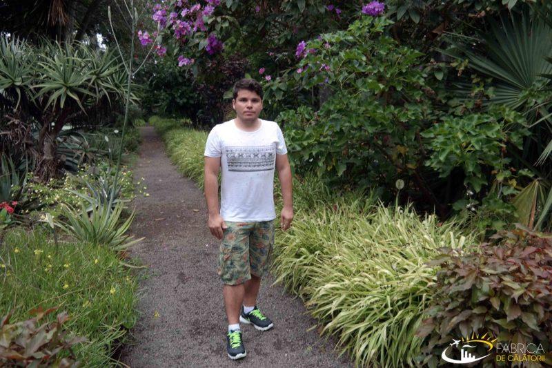 Gradina botanică din Puerto de la Cruz