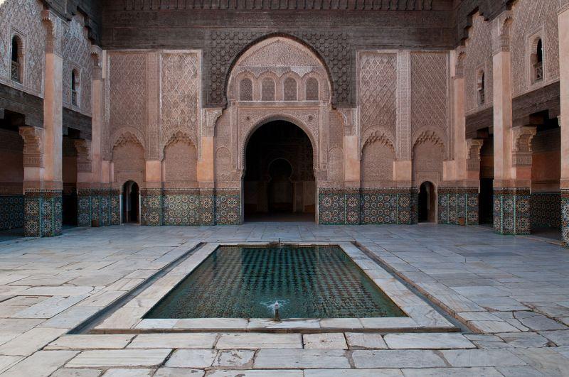 Medersa Ben Youssef - sursa foto Wikipedia