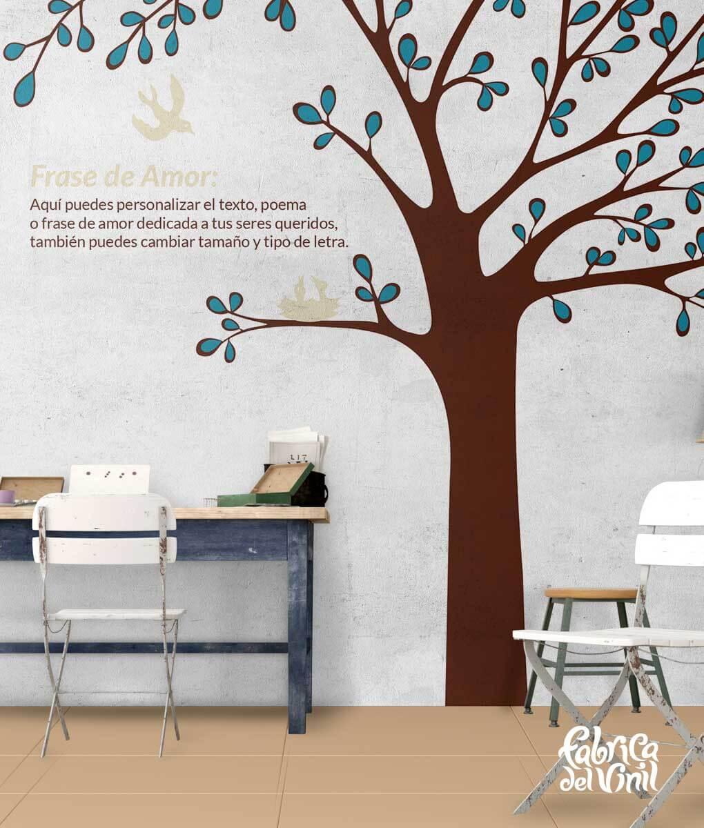 rbol Mural para habitacin infantil Vinilo Decorativo