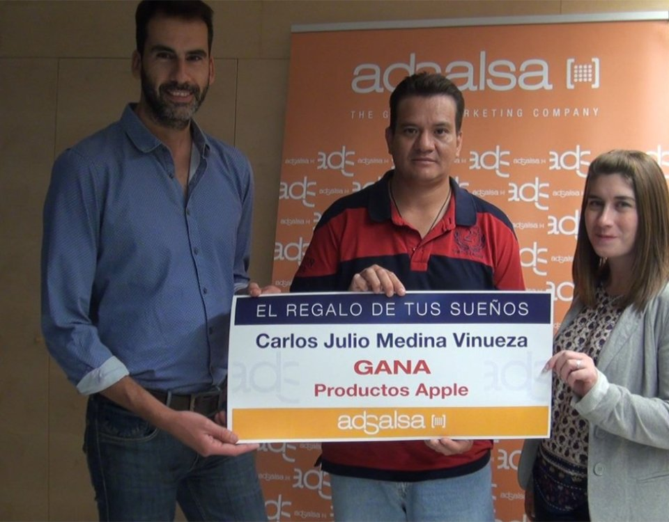 Ganador Productos Apple