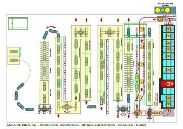 Desenvolvimento de layout industrial 3D 20