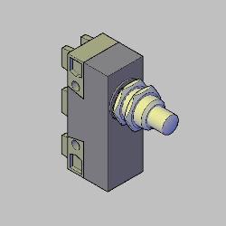 Bloco 3D MICR LIMITADOR T2C 15A 250V Turk