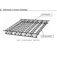 projeto trelica steel joist