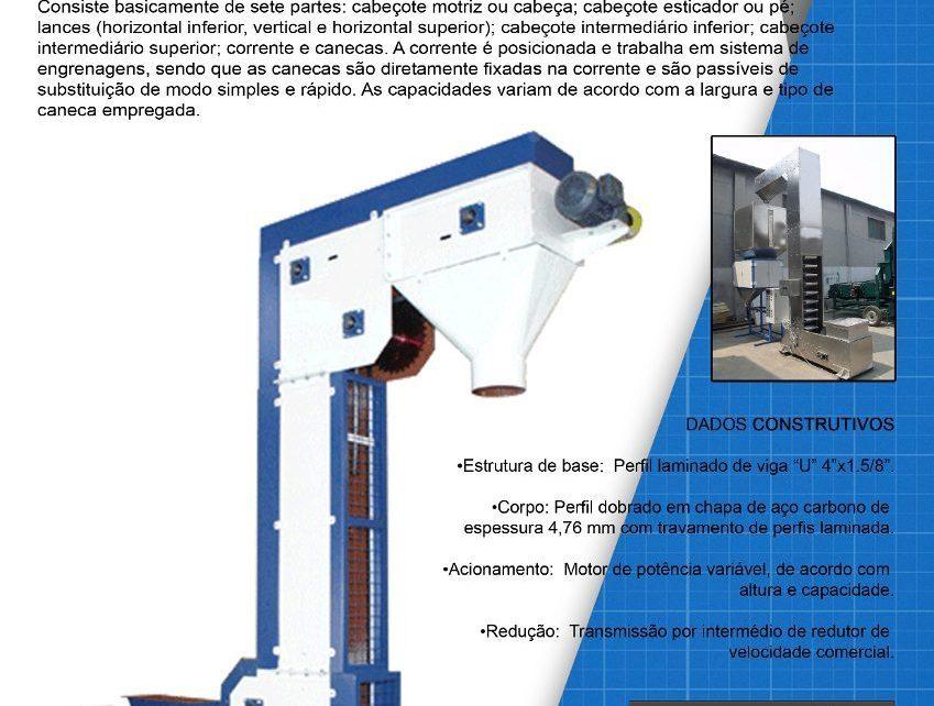 1582 elevador de canecas tipo z16 F