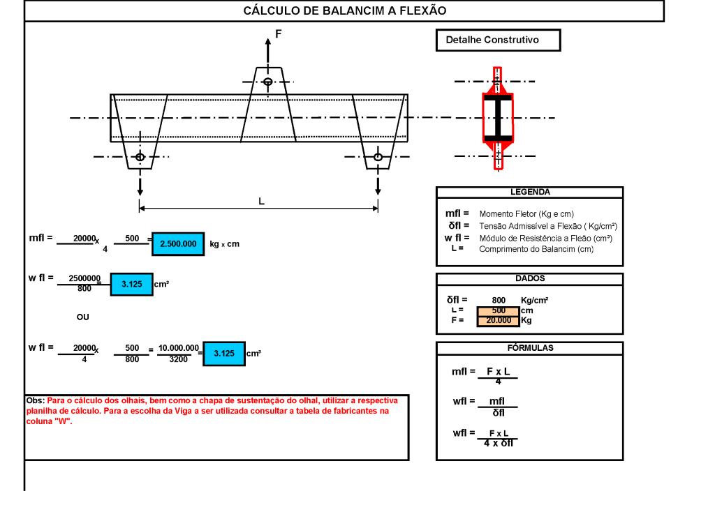 06 Calculo de Balancim em Vigas Page 2