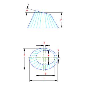 74 Planificacao Oval para Oval traçado caldeiraria