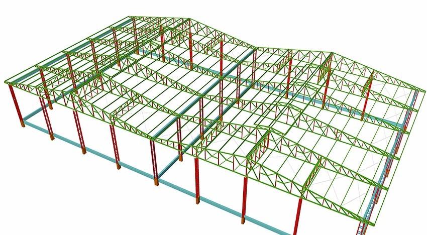 projeto de estruturas metalica