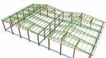 Projetos FP: Projeto de Galpão & Cobertura em estrutura metalica 15 x 30 com estrutura para suportar ponte rolante