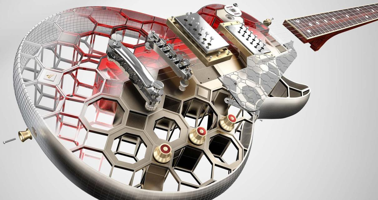 Tutorial 3D AutoCADGuitar
