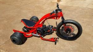 projeto completo drift trike motorizado
