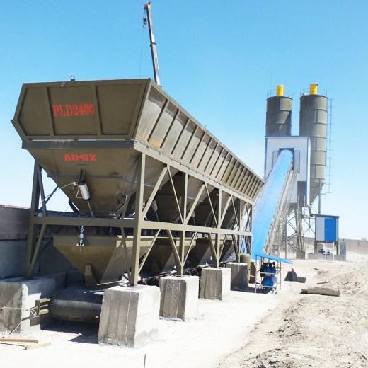 projeto completo central de concreto dosadora silo misturador
