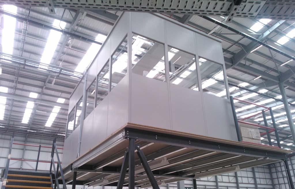 05 Projeto estrutural mezanino industrial