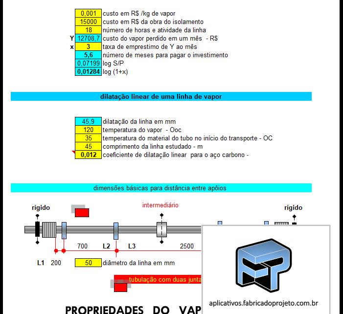 AFP.03.10206.0 pva calculo geracao vapor e diamentros de tubulacao 1