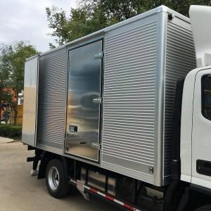 projeto carroceria furgao aluminio
