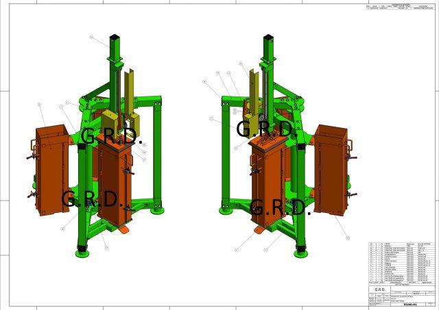 Projeto prensa manual fardo fabricadoprojeto