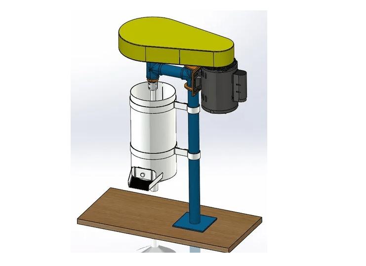 Projeto mecanico completo despolpador de frutas fabricadoprojeto