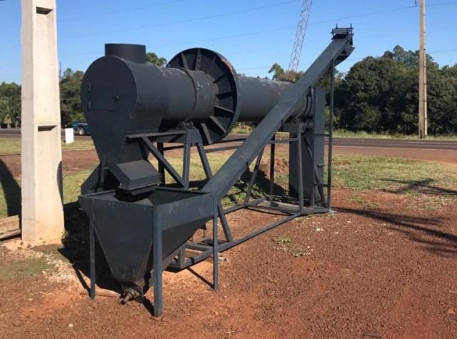 projeto mecanico completo secador rotativo de graos fabricadoprojeto