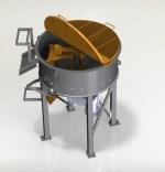 Projetos FP: Misturador planetário de concreto