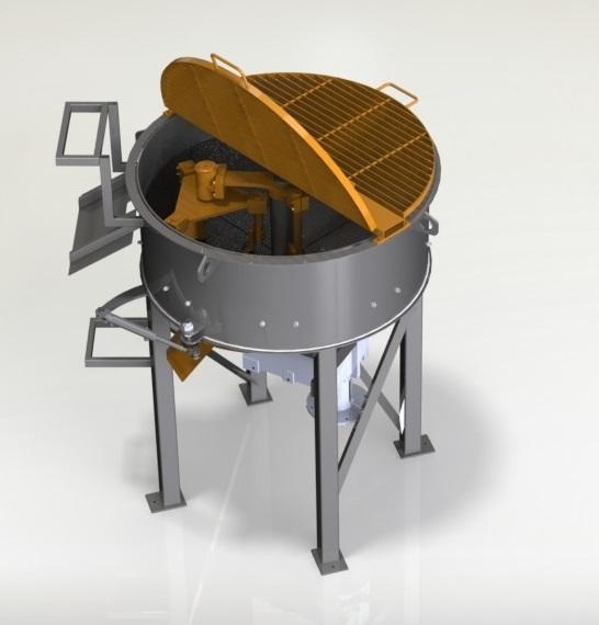 Projeto mecanico Mistudor planetario concreto L fabricadoprojeto