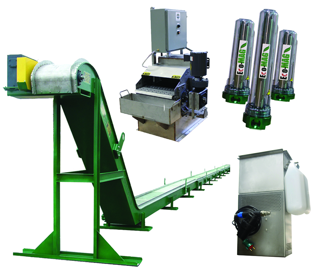 Magnetic Non Magnetic Material Handling Systems
