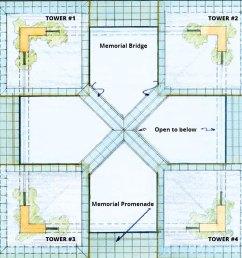 new world trade center memorial skywalk memorial park by eric gerdes [ 890 x 890 Pixel ]