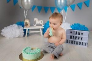 photo d'anniversaire bébé