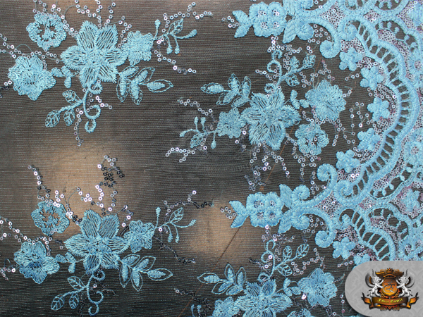 Mesh Embroidered Sequin Fabric 54 Quot Wide Sold By The