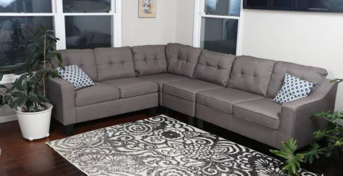 Oliver smith fur dropship fabric sofa