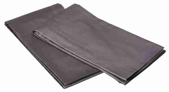 Utopia bedding cotton sateen zippered pillow cases
