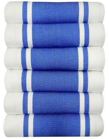 Tiny Break Vintage Striped Tea Towels