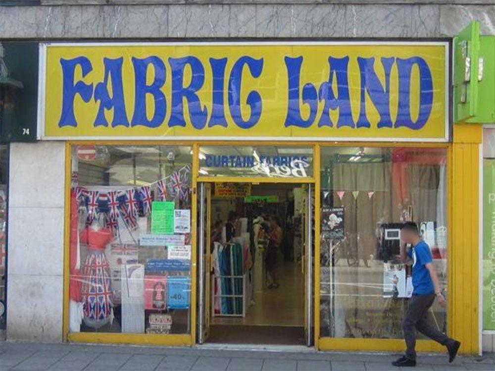 fabric land brighton
