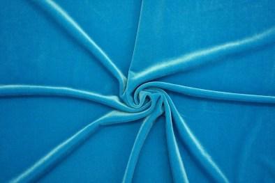 Stretch Velvet Turquoise