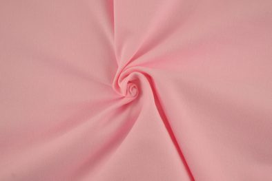 Cotton Spandex Solid Light Pink