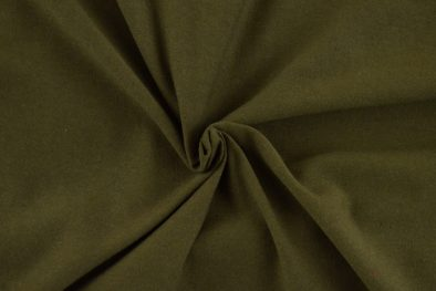 Cotton Spandex Solid Olive