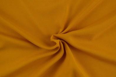Rayon Challis Mustard