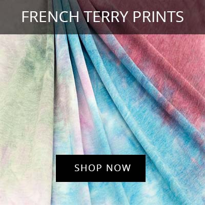 Wholesale French Terry Prints