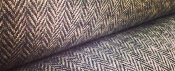 Herringbone Brushed Sweater Knit Fabric Outlet Sf