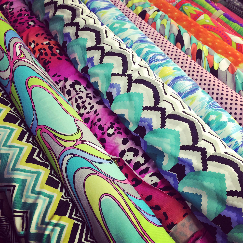 New designer nylon lycra fabrics fabric outlet sf for Lycra fabric