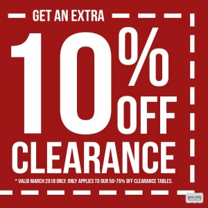 Coupon | Save Big on Clearance Fabrics!