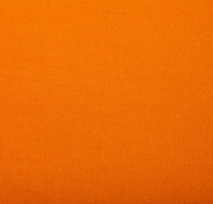 Cotton Elastane Jersey Orange Fabric