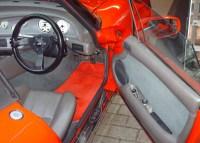 Sports car interior spray paint project - TVR Chimaera ...