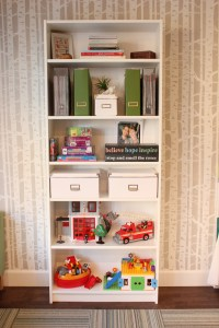billy bookcase storage bins | fabrictherapy