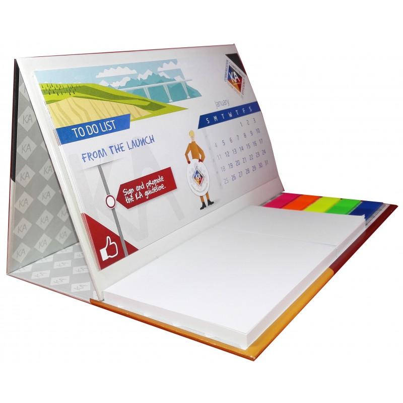 Imprimez En Ligne Votre Logo Sur Le Calendrier De Bureau