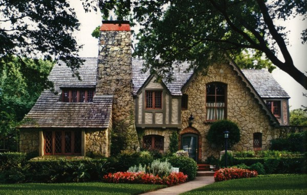 English Tudor Cottage Style Homes Plans