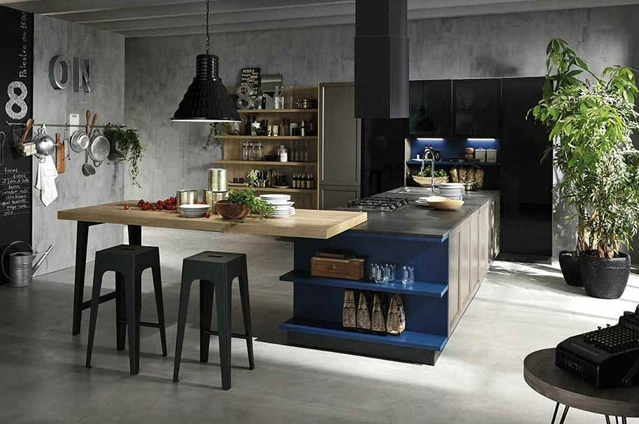 Cucine style industriale