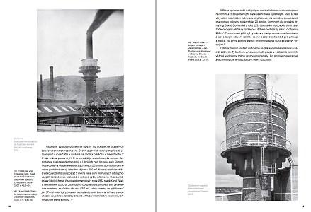 Publikace o továrních komínech s vodojemy